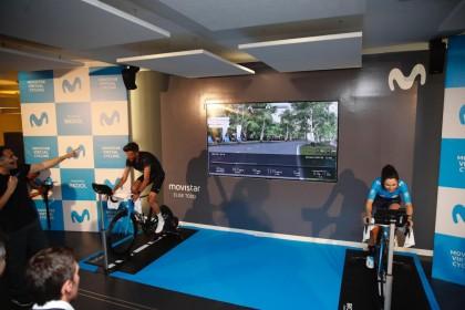 Presentado en Madrid el Movistar Virtual Cycling que comienza el 1 de abril