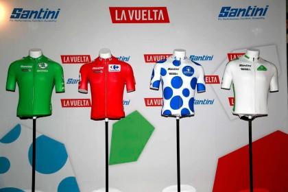 Presentados los maillots oficiales de La Vuelta 2019