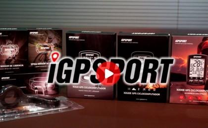 Presentamos los ciclocomputadores iGPSPORT