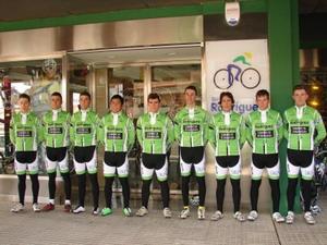 Primer entrenamiento del Bicicletas Rodríguez Extremadura