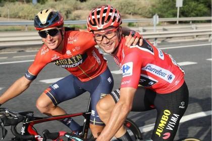 Primoz Roglic se lleva La Vuelta y Fabio Jakobsen la última etapa