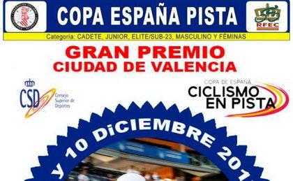 Programa de la Copa de España de pista de Valencia