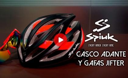 Programa presentación Casco Adante y Gafas Jifter by Spiuk