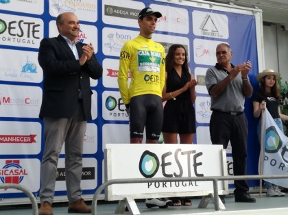 Rafael Reis conquista en Turcifal el prólogo del Trofeo Joaquim Agostinho
