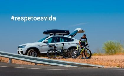 #respetoesvida la campaña de Cruz para reivindicar la convivencia en las carretera