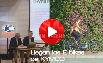 Rueda de prensa presentación bicicletas eléctricas Kymco