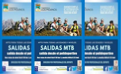 Ruta femenina de MTB este domingo 3 de junio