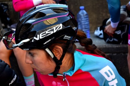 Sandra Alonso roza la victoria en Noja