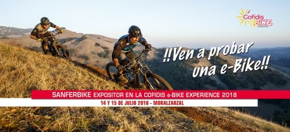 Sanferbike en la Cofidis Ebike Experience contará con más de 20 modelos de test