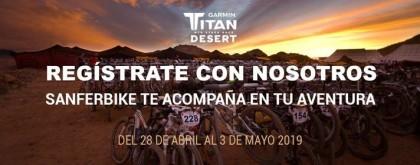 Sanferbike presenta sus servicios para la Titan Desert 2019