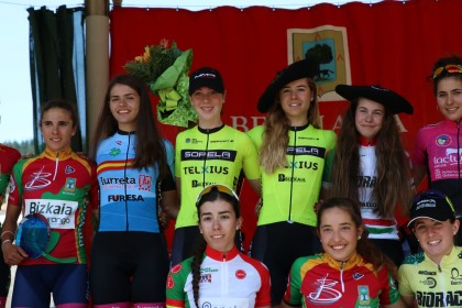 Sara Marín logra la victoria en Berriatua