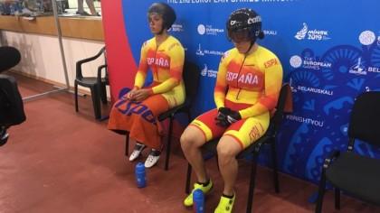 Séptimo puesto de la velocidad por equipos femenina en Minsk