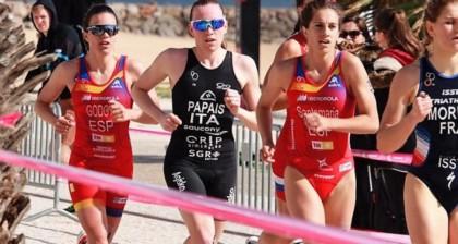 Serrat, Benito, Godoy y Santamaría, nuestros triatletas en los Juegos del Mediterráneo