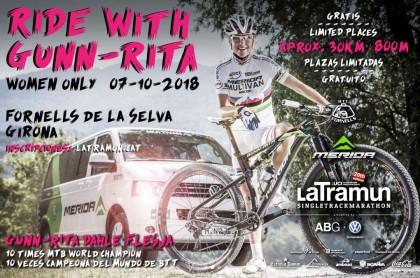 Solo para mujeres .. pedalea gratis junto a la leyenda Gunn-Rita