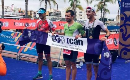 Tercer puesto en el Ironman Gandía para Luis Miguel Del Rosal