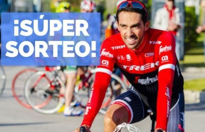 Tuvalum sortea dos invitaciones para la Marcha Alberto Contador