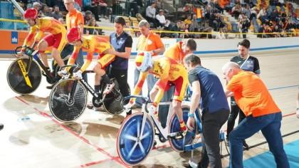 Un exitoso Mundial de Ciclismo Adaptado en Pista con 6 medallas