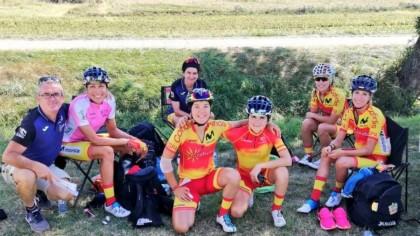 Una caída aparta a Mavi García del liderato en el Tour de Ardeche