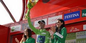 Valverde arrebata a Froome un sitio en el podio