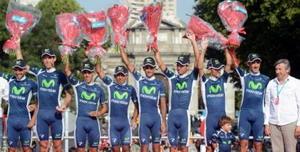 Movistar Team mejor escuadra en La Vuelta 2012