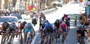 Alejandro Valverde tercero en Calella