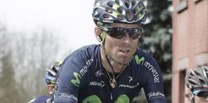 Alejandro Valverde valiente en la Dauphine