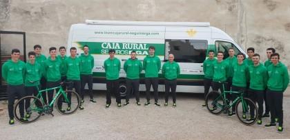 Veintiún ciclistas en el filial 2019 de Caja Rural - Seguros RGA