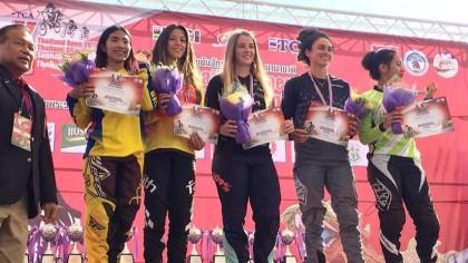 Verónica García logra el segundo puesto en el BMX Thailand Open
