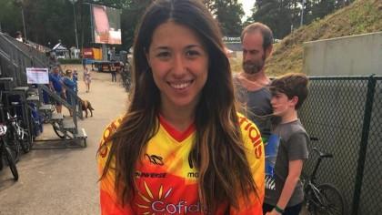 Verónica García mejor clasificada de la selección de BMX en Zolder