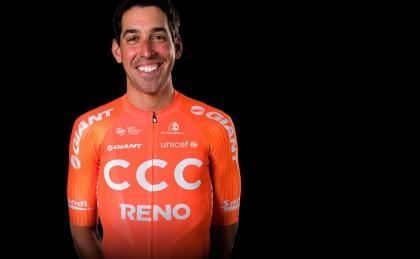 Víctor de la Parte sueña con ganar una etapa en el Giro de Italia