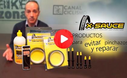 Vídeo: A salvo de los pinchazos con los nuevos productos X-Sauce