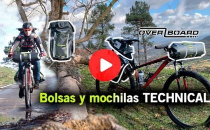 Vídeo + artículo: Nueva serie Technical de OverBoard para bicicleta