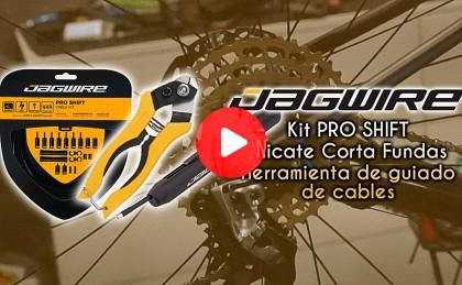 Vídeo: Así de fácil cambiamos los cables con el kit de Jagwire
