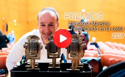 Vídeo: Así fue la gala de  Zamakoa Maestre - Pedaleando en la Costa 2019