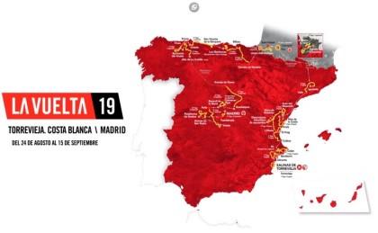 Vídeo: Así será la Vuelta a España 2019