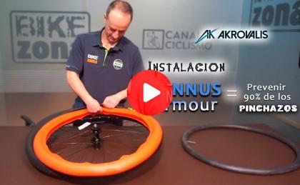 Vídeo: Blindaje para tus ruedas, adiós al 90% de los pinchazos con Tannus Armour