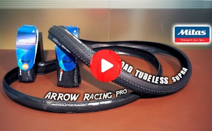 Vídeo: Cubiertas MITAS Arrow Racing Pro y X-Road Tubeless