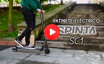 Vídeo: De ruta por la ciudad con el patinete eléctrico Spinta SC1