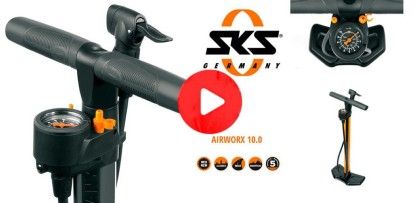 Vídeo: El inflador imprescindible: AIRWORX 10.0 de SKS