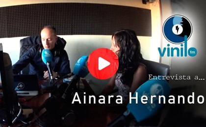 Vídeo: Entrevista con Ainara Hernando en Vinilo FM