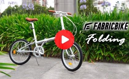 VÍDEO: Fabricbike Folding una bicicleta plegable para disfrutar de la ciudad