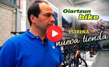Vídeo: Oiartzun Bike inaugura una tienda dedicada en exclusiva a la bicicleta eléctrica