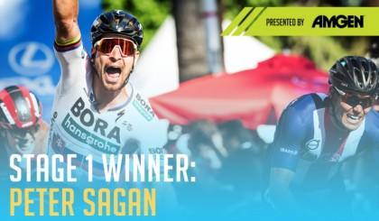 Vídeo: Peter Sagan gana en Sacramento y lidera la Vuelta a California
