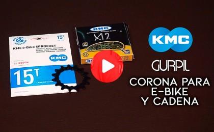 Vídeo: Plato para e-bike y cadena KMC