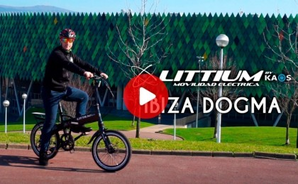 Vídeo presentación bicicleta eléctrica Ibiza Dogma by Littium