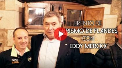 Vídeo: Presentación turismo de Flandes con Eddy Merckx en Bilbao