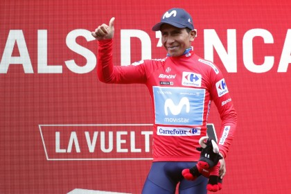 Vídeo resumen: Nairo Quintana lidera la Vuelta tras la tormenta