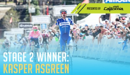 Vídeo: Segunda etapa del Tour de California, Van Garderen nuevo líder