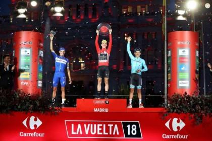 Vídeo: Simon Yates celebra su triunfo en La Vuelta 2018
