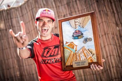 Vídeo: Tomás Slavik bicampeón del Red Bull Valparaíso con Ghost